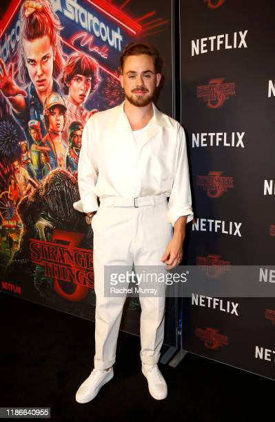 Dacre Montgomery attends the Stranger Things SAG NOM COMM at Linwood Dunn Theater on November 09 2019 in Los Angeles California