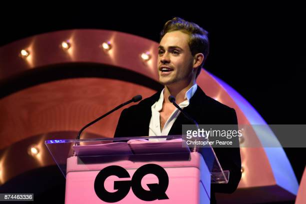 Dacre Montgomery presents the award for Actor of the Year during the GQ Men Of The Year Awards Ceremony at The Star on November 15 2017 in Sydney...