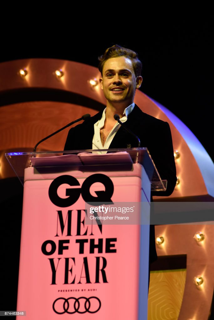 Dacre Montgomery presents the award for Actor of the Year during the GQ Men Of The Year Awards Ceremony at The Star on November 15, 2017 in Sydney, Australia.
