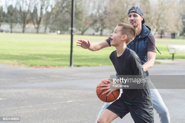 Dad Versus Son, Basketball Edition
