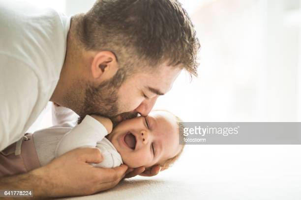 Dad with baby girl