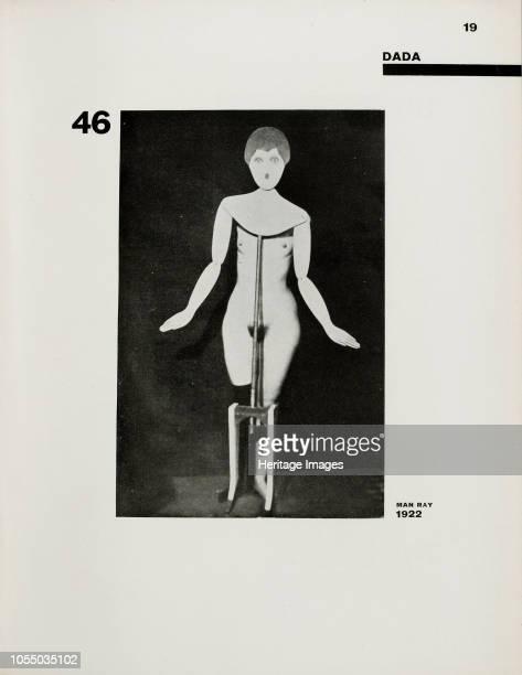 Die Kunstismen. By El Lissitzky und Hans Arp, 1925. Private Collection. Artist Lissitzky, El .