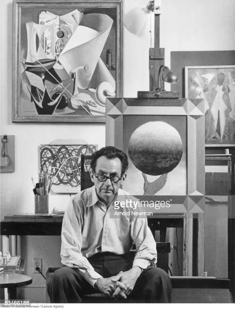Dadaist artist Man Ray poses for portrait June 13, 1948 in Los Angeles, California.