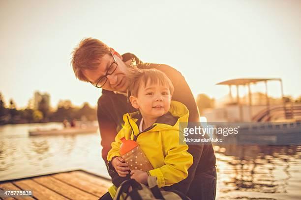 パパと私の川