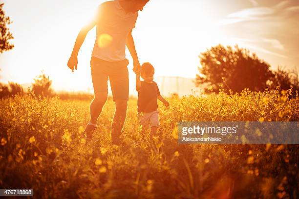 daddy and me - sunny stock pictures, royalty-free photos & images