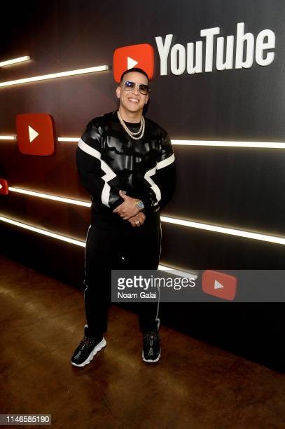 Daddy Yankee at YouTube Brandcast 2019 at Radio City Music Hall on May 02 2019 in New York City
