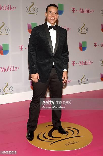 Daddy Yankee attends Premio Lo Nuestro a la Musica Latina 2014 at American Airlines Arena on February 20, 2014 in Miami, Florida.