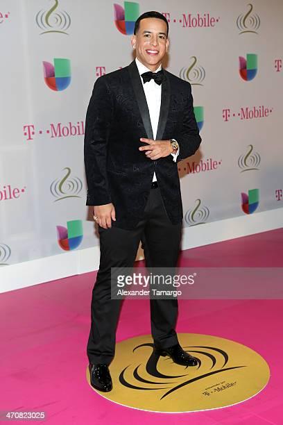 Daddy Yankee attends Premio Lo Nuestro a la Musica Latina 2014 at American Airlines Arena on February 20 2014 in Miami Florida