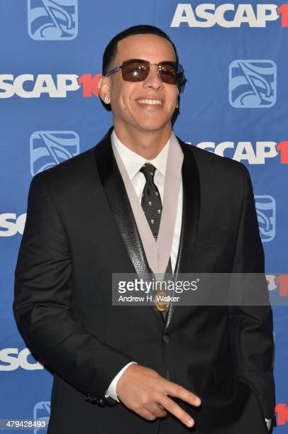 Daddy Yankee attends the 22nd annual ASCAP Latin Music Awards at Hammerstein Ballroom on March 18 2014 in New York City
