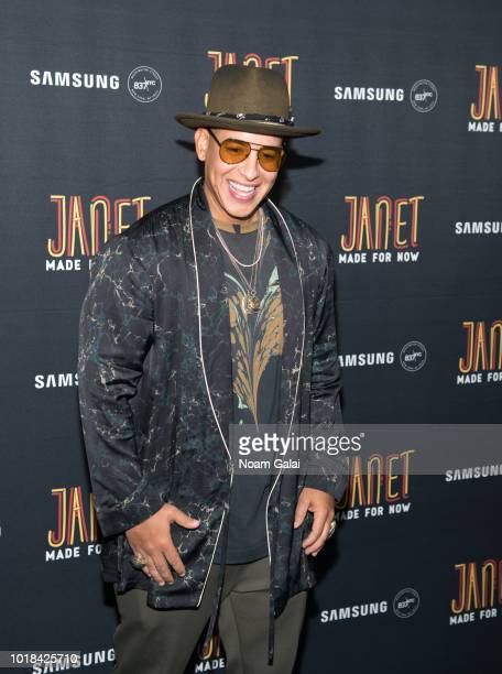 Daddy Yankee attends the Made For Now release party at Samsung 837 on August 17 2018 in New York City
