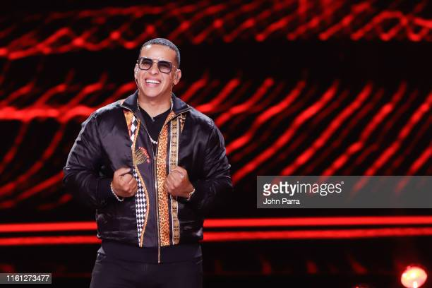 Daddy Yankee attends Univision's Reina de la Cancion at Univision Studios on August 7 2019 in Miami Florida