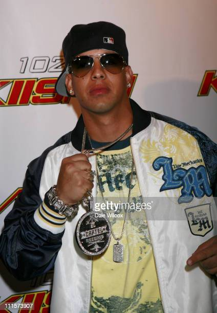 Daddy Yankee during 1027's KISS FM's Wango Tango 2006 Arrivals at Verizon Wireless Amphitheater in Irvine California United States