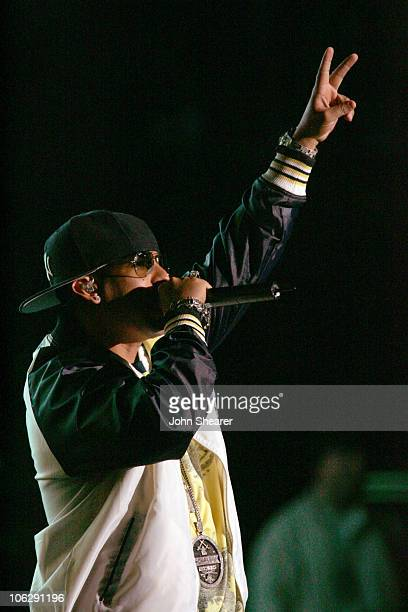 Daddy Yankee during 1027's KISS FM's Wango Tango 2006 Show at Verizon Wireless Amphitheater in Irvine California United States
