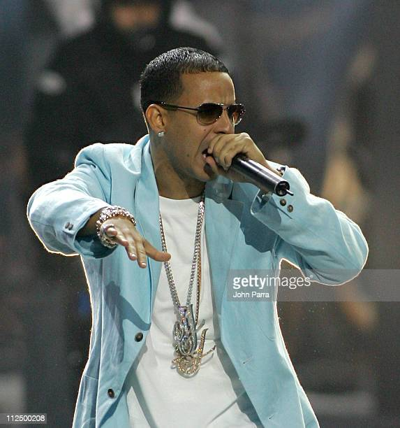 Daddy Yankee during 2005 Billboard Latin Music Awards Show at Miami Arena in Miami Florida United States
