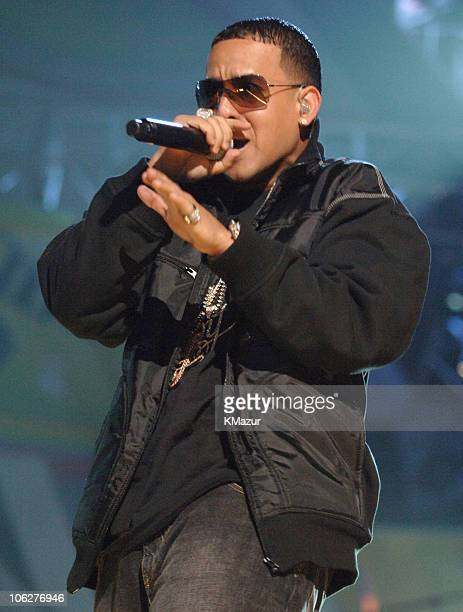 Daddy Yankee during 2005 Billboard Music Awards Rehearsals Day One at MGM Grand Garden Arena in Las Vegas Nevada United States