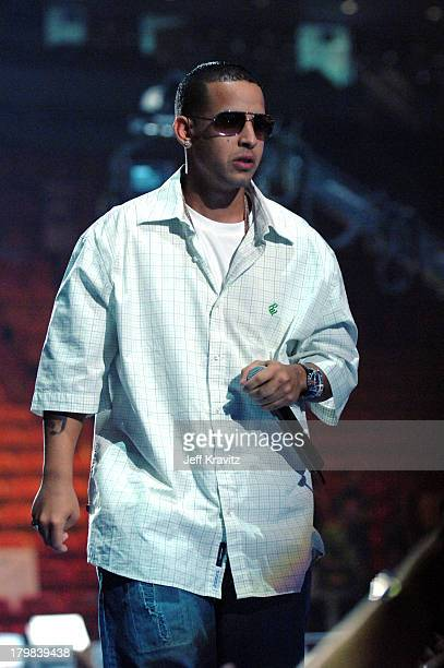 Daddy Yankee during 2005 MTV VMA Rehearsals Day 2 at American Airlines Arena in Miami Florida United States
