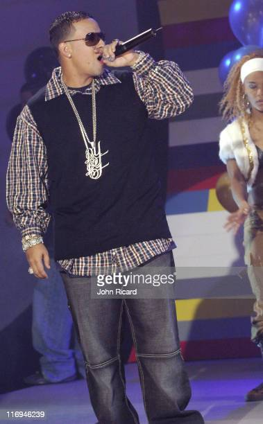 Daddy Yankee during BET's '106 Park' Taping for New Year's Eve Broadcast December 16 2005 at BET Studios in New York City New York United States