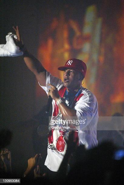 Daddy Yankee during Daddy Yankee in Concert in San Juan June 28 2006 in San Juan Puerto Rico