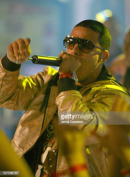 Daddy Yankee during Daddy Yankee Performs on MTV's TRL with Special Guests Jordin Sparks and Blake Lewis of American Idol May 30 2007 at MTV Studios...