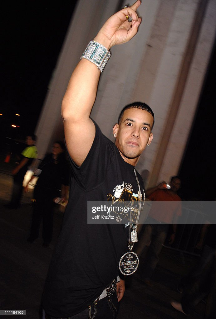 Daddy Yankee during MTV Video Music Awards Latin America 2006 - Red Carpet at Palacio de los Deportes in Mexico City, Mexico.