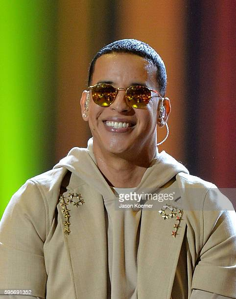 Daddy Yankee onstage at Telemundo's Premios Tu Mundo Your World Awards at American Airlines Arena on August 25 2016 in Miami Florida