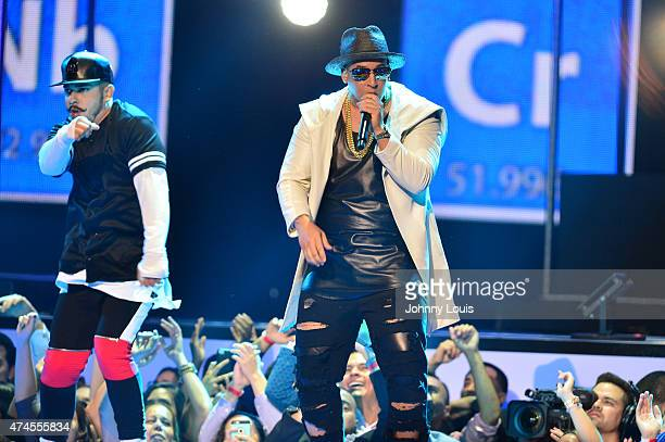 Daddy Yankee performs at the 2015 Billboard Latin Music Awards presented by State Farm on Telemundo at Bank United Center on April 30 2015 in Miami...
