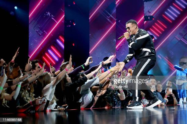 Daddy Yankee performs onstage at YouTube Brandcast 2019 at Radio City Music Hall on May 02 2019 in New York City