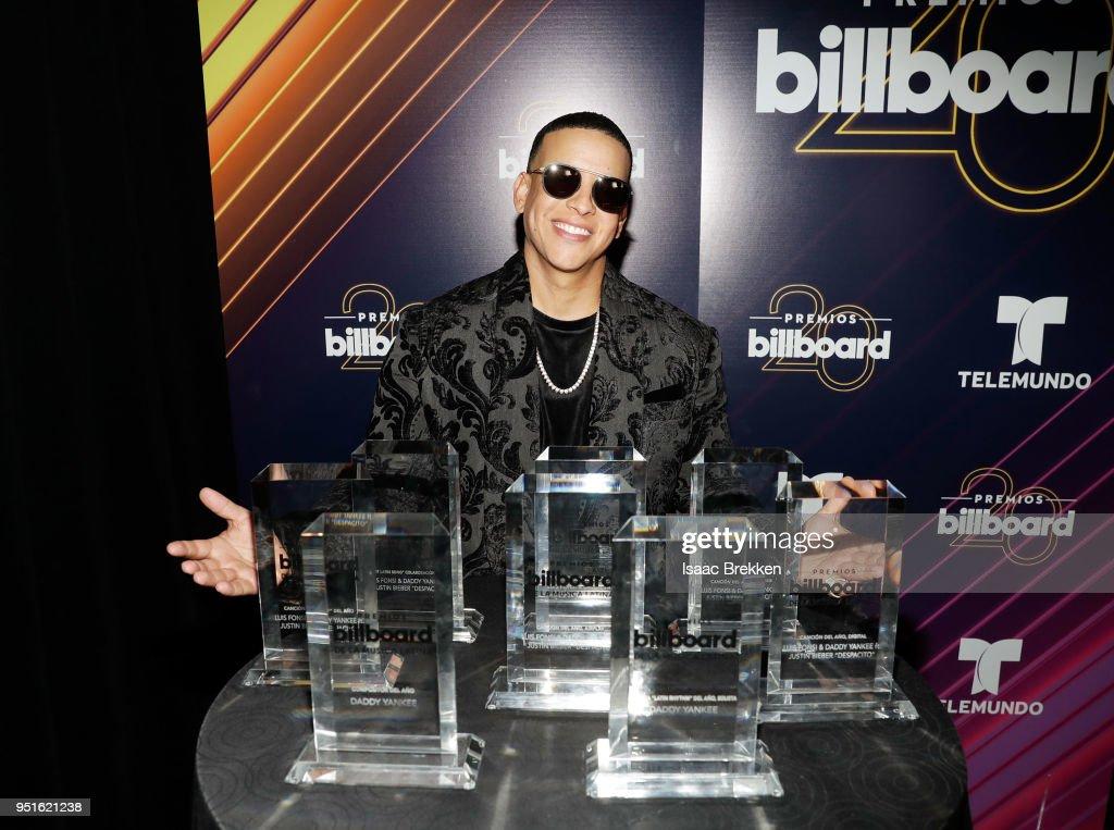 2018 Billboard Latin Music Awards - Press Room
