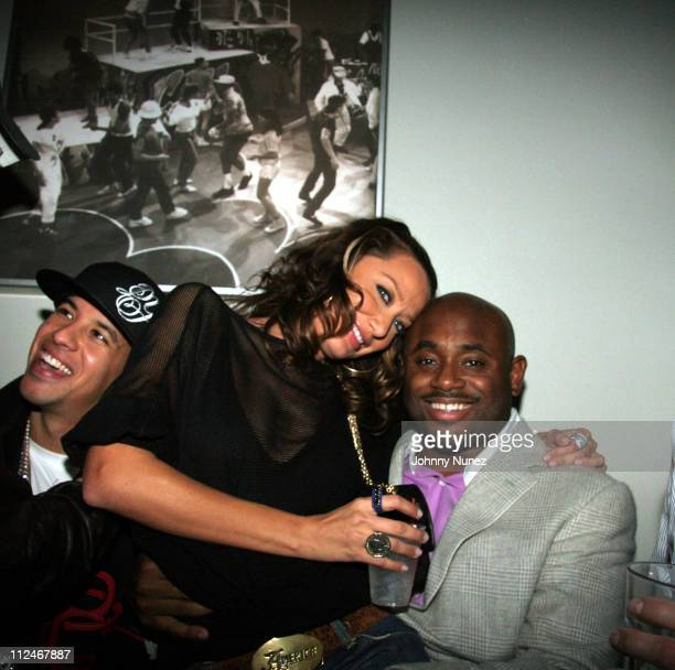 Daddy Yankee Sky Nellor and Steve Stoute during Joe '3H' Weinberger 24th Birthday at Stereo in New York New York United States