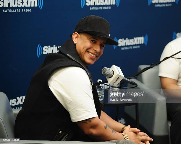 Daddy Yankee visits the SiriusXM Studios on November 14 2014 in New York City