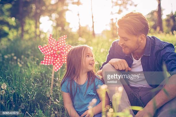Vater-Tochter