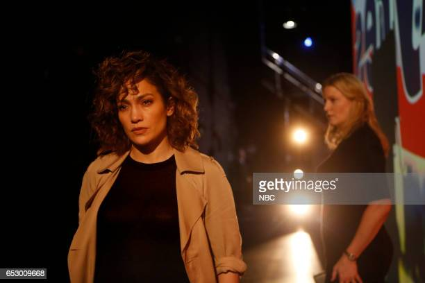 BLUE 'Daddy's Girl' Episode 204 Pictured Jennifer Lopez as Harlee Santos Anna Gunn as Julia Ayres