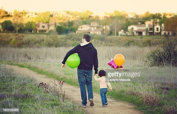 Daddy's Girl - Out For A Walk Together