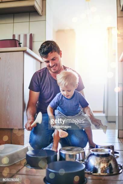 Papas kleine Krachmacher