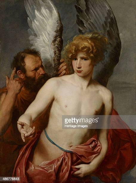 Daedalus and Icarus Between 1615 and 1620 Artist Dyck Sir Anthony van
