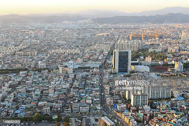 daegu city - daegu stock pictures, royalty-free photos & images