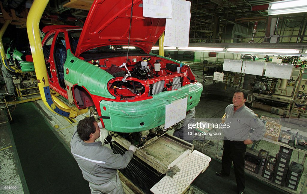 Daewoo Motor Company Pictures | Getty Images