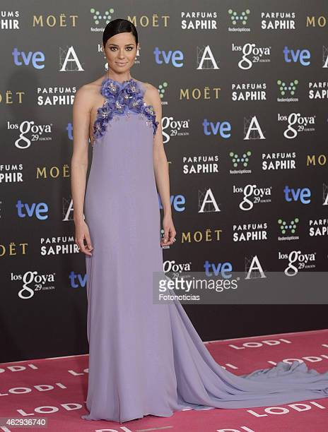 Dafne Fernandez attends Goya Cinema Awards 2015 at Centro de Congresos Principe Felipe on February 7 2015 in Madrid Spain
