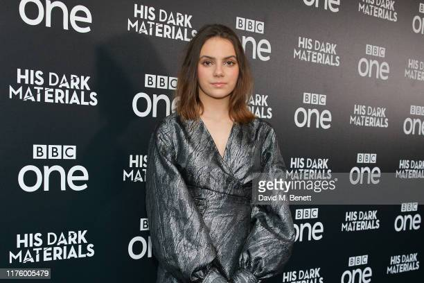 Dafne Keen attends the Global Premiere of HBO and BBC's His Dark Materials at BFI Southbank on October 15 2019 in London England