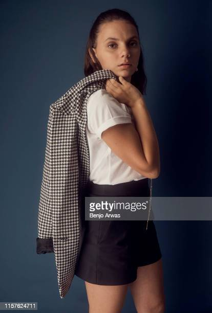 Dafne Keen of BBC One and HBO's 'His Dark Materials' poses for a portrait during the 2019 Summer TCA Portrait Studio at The Beverly Hilton Hotel on...