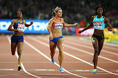 london england dafne schippers netherlands shaunae