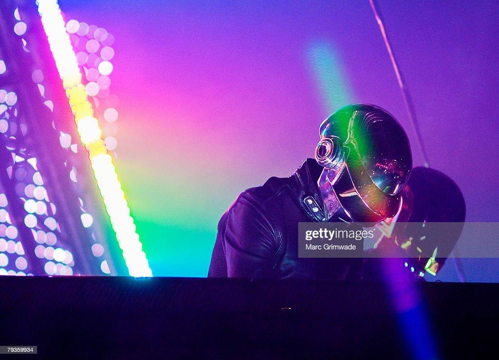 Daft Punk in Concert - Brisbane, Australia : News Photo