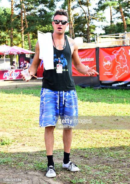 Dag Alexis Kopplin SDP beim Helene Beach Festival 2016 am am Helene See