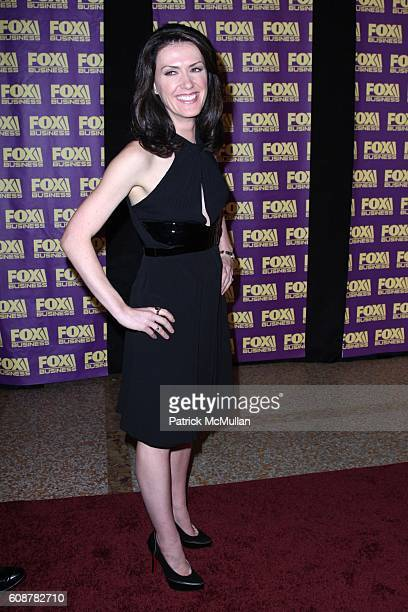 Dagen McDowell attends A Celebration for the Launch of THE FOX BUSINESS NETWORK at Temple of Dendur on October 24 2007 in New York City