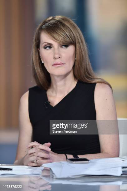 Dagen McDowell visits Mornings With Maria hosted by Maria Bartiromo at Fox Business Network Studios on September 11 2019 in New York City