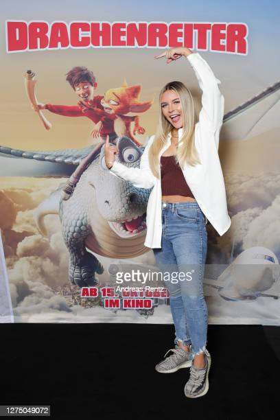 Dagi Bee attends 'DRACHENREITER' photocall on September 14, 2020 in Cologne, Germany.