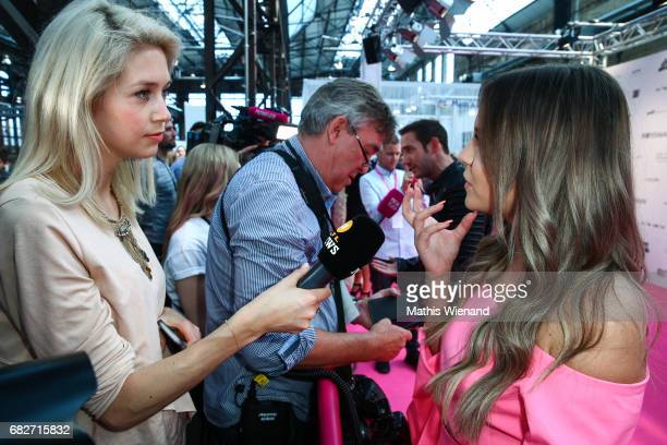 Dagi bee attends the GLOW The Beauty Convention on May 13 2017 in Duesseldorf Germany
