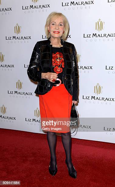 Dagmar Berghoff attends Liz Malraux Fashion Show at Hotel Atlantic on February 10 2016 in Hamburg Germany