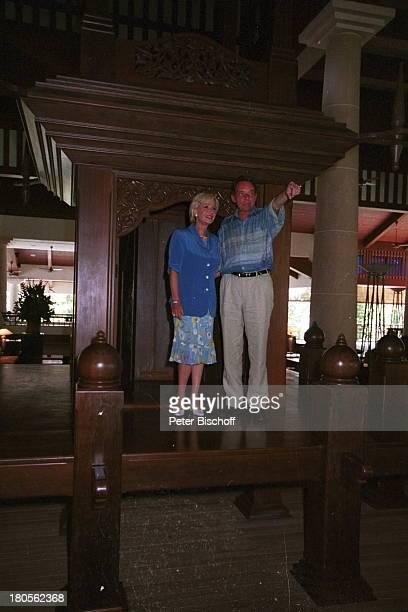 Dagmar Berghoff Dr Peter MatthaesN3Reihe Heimat in der FerneEingangshalle Hotel AndamanMalaysia/Insel Langkawi/Asien NachbauKaiserpalast Urlaub