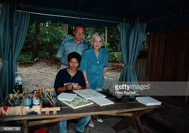 Dagmar Berghoff Ehemann Dr PeterMatthaes N3Reihe Heimat in der FerneMalaysia/Insel Langkawi/Asien Hotel TheAndamanBatikkünstler